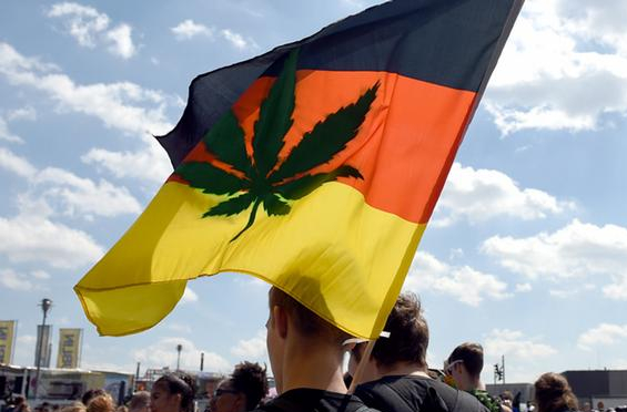 germany cannabis flag