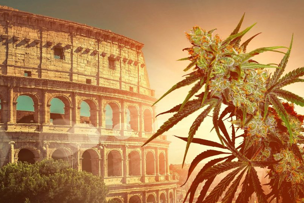 italy coloseum cannabis